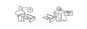 Die Montageanleitungen von IKEA sind unverkennbar. Der Möbelhersteller arbeitet in erster Linie mit Piktogrammen und Skizzen, um Kunden beim Aufbau zu unterstützen. Auch B2B-Unternehmen können ihre Produktanleitungen zum Markenzeichen machen und damit punkten.