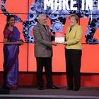 Rundgang Hannover Messe: Merkel und Modi