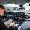 Pilotierte Testfahrt: Freihändig auf der Autobahn