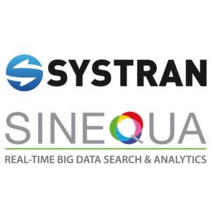 Sinequa und Systran kooperieren bei der Analyse von Big Data.