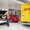 Der Audi als Briefkasten