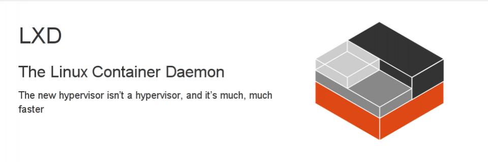LXD - Linux Cotainer Daemon