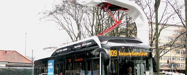 Millionen Menschen fahren täglich in Deutschland mit dem Linienbus – der künftig alternativ angetrieben die CO2-Emissionen verringern soll.