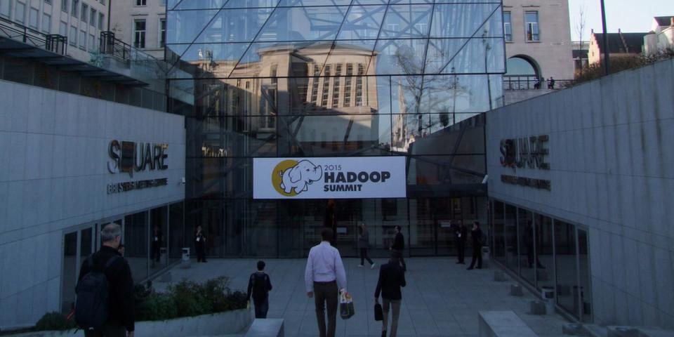 Über 1.000 Besucher kamen im April nach Brüssel zum Hadoop Summit, um sich über die neuesten Entwicklungen zu informieren.
