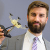 Gelenkiger Spinnen-Greifer für Industrieroboter passt sich dem Werkstück an