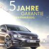 VW wirbt mit fünfjähriger Garantie