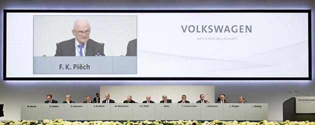 Abschied vom Vorsitz: Piëch verlässt den VW-Aufsichtsrat