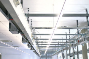 Beleuchtung im Testlabor: Das Lichtkonzept der BSH Hausgeräte wurde zusammen mit Osram und LI-EX entwickelt.