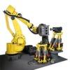Hexapod-Roboter ermöglichen das automatische Entgraten von Gussteilen