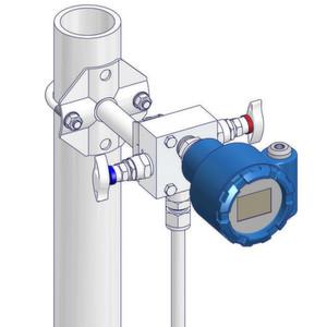Auf der Achema zeigt AS-Schneider unter anderem einen maßgeschneiderten Ventilblock mit frontseitigem Messgeräteanschluss.