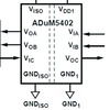 Schaltung zur Strommessung für 500-V-Gleichtakt Spannung