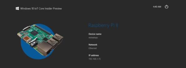 So installieren Sie Windows 10 IoT Core auf dem Raspberry Pi 2