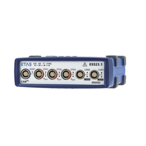 Vier CAN- und drei Ethernet-Anschlüsse