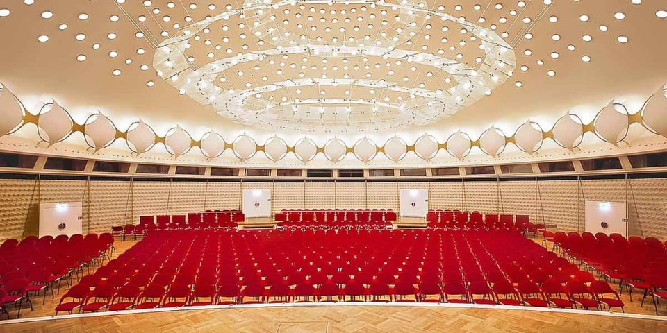 Der Kuppelsaal des Berliner Kongresszentrums wird bald zahlreiche Gäste beherbergen