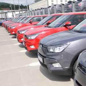 Ssangyong verzeichnete im Januar den höchsten Zuwachs auf dem deutschen Markt. Mit 180 Einheiten ist der Marktanteil jedoch gering.