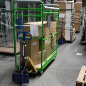 Warenumschlag per f rderkette for Koch lagertechnik