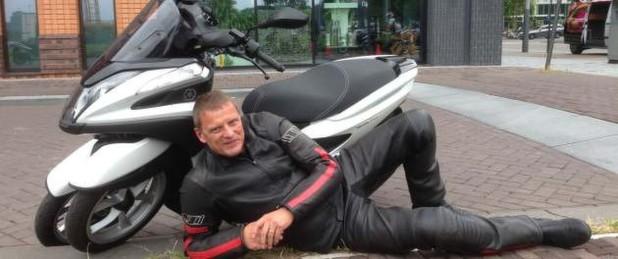 Da liegst di nieder – der Yamaha Tricity 125 im Alltagstets von »bike und business«.