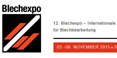 Über 100 neue Aussteller zur Blechexpo und Schweißtec 2015