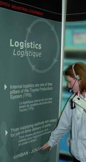 Bild 1: Auch im französischen Ancenis, wo Toyota seine Gabelstapler für Europa baut, wird schlank produziert.