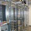 Statt Doppelboden - Top-Cooler, Kabelführungsbügel und Gitterbahnen