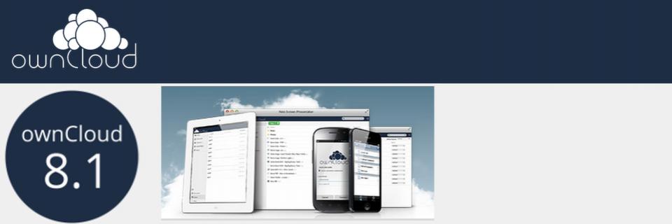 ownCloud 8.1 veröffentlicht