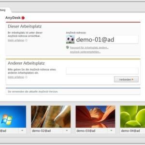 Remote-Desktop-Lösung AnyDesk ist fertig