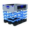 Faltbarer Großladungsträger mit vier Seitenwandhöhen konfigurierbar