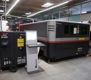 Mit der neuen Amada-Faserlaserschneidemaschine FOL 3015 AJ erweitert die BVS sein Bearbeitungsspektrum hinsichtlich Kupfer- und Messingblechen.