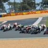 DHL lässt für MotoGP die Reifen qualmen
