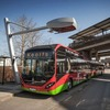 Elektrobusse werden in sechs Minuten voll aufgeladen