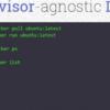 Das Hyper-Projekt erlaubt das Verwenden von Docker-Images unter verschiedenen Hypervisoren
