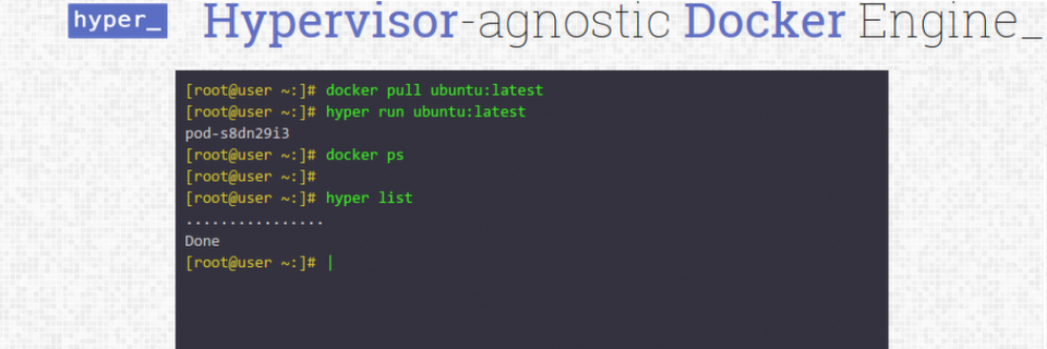 Hyper bringt Docker und den Xen.-Hypervisor zusammen.