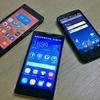 Chinesische Smartphone-Hersteller sind auf dem Vormarsch