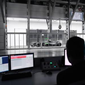 Formel-1-Team analysiert Aerodynamik mit HP Moonshot