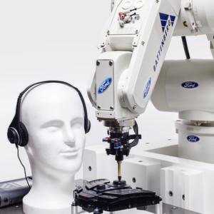 In Zukunft soll der Roboter Geräusche feststellen und analysieren können.
