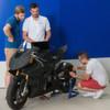Studierende entwickeln elektrisches Rennmotorrad