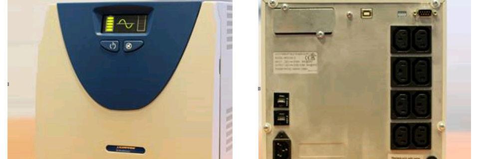 Mehrstufige Absicherung garantiert störungsfreie Energieversorgung