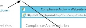 Archivierung in Exchange 2013 nutzen