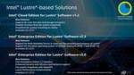 Abbildung 2: Intels Lustre-basierte Lösungen bieten im Herbst 2015 und Frühjahr 2016 erhöhte Sicherheit und erleichterte Verwaltung von Lustre-basierte Filesystemen.