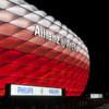 Die Allianz-Arena erstrahlt in 16 Millionen Farben