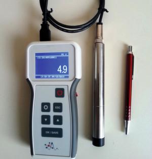 Optischer Sauerstoffsensor im Stiftformat