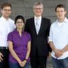 Drei Nachwuchsforscher fahren zur Konferenz nach Berlin