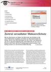 Zentral verwalteter Malware-Schutz