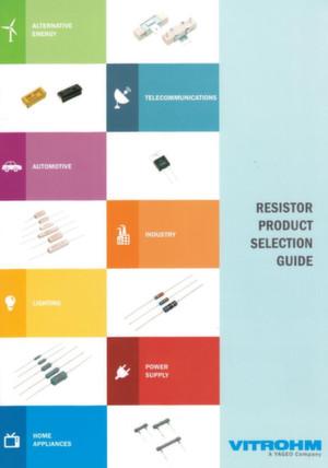 Die aktuelle Produktübersicht erhalten Sie beim Vitrohm-Distributor Nova Elektronik.