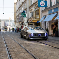 Mercedes-Benz F 015 Luxury in Motion auf dem Ars Electronica Festival