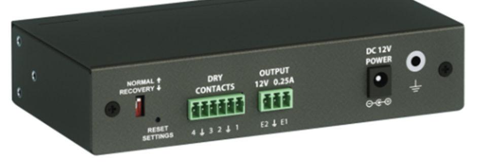 Das Monitoring System 100 ist das Einstiegsmodell der Überwachungssysteme von Zertico.