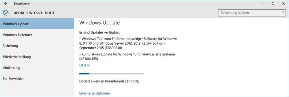 Zum Microsoft Patchday im September 2015 wird sich ein Neustart kaum vermeiden lassen.