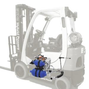 Gabelstapler mit hydraulischem Hybridantrieb
