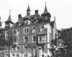 Das Büro Lange Zeile in Nürnberg im Jahr 1935.