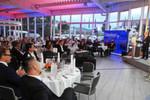 25-Jahr-Feier in Jena: Firmenchef Wilfried Opitz ließ in einer Rede die Geschichte seines Unternehmens Revue passieren.